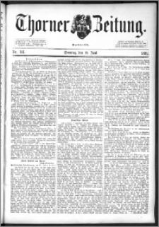 Thorner Zeitung 1892. Nr. 141 + Beilage