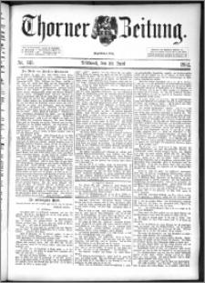 Thorner Zeitung 1892. Nr. 143