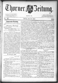 Thorner Zeitung 1892. Nr. 145