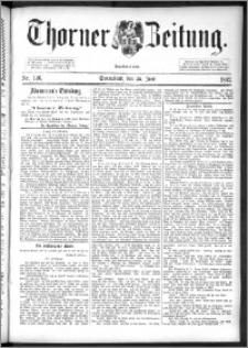 Thorner Zeitung 1892. Nr. 146