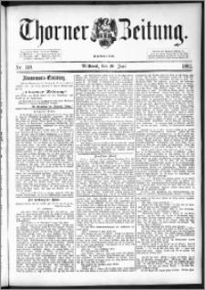 Thorner Zeitung 1892. Nr. 149 + Extra-Beilage