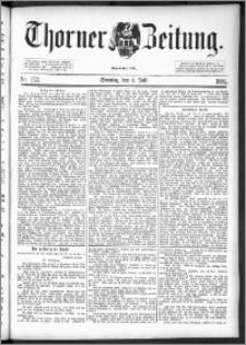 Thorner Zeitung 1892. Nr. 153 + Beilage