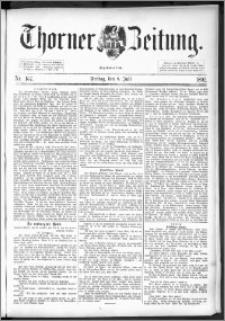 Thorner Zeitung 1892. Nr. 157