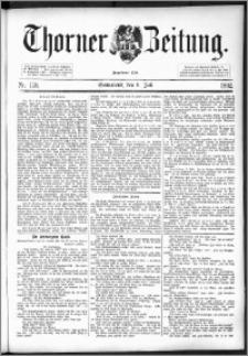 Thorner Zeitung 1892. Nr. 158