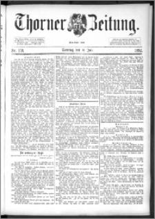Thorner Zeitung 1892. Nr. 159 + Beilage