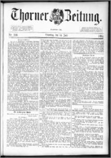 Thorner Zeitung 1892. Nr. 160