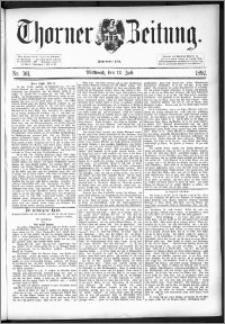 Thorner Zeitung 1892. Nr. 161