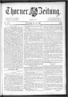 Thorner Zeitung 1892. Nr. 162