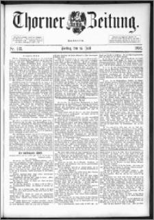 Thorner Zeitung 1892. Nr. 163