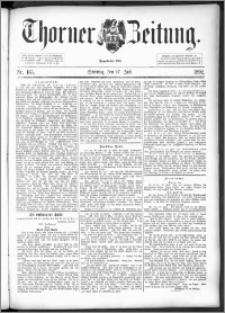 Thorner Zeitung 1892. Nr. 165 + Beilage