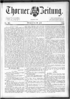 Thorner Zeitung 1892. Nr. 167