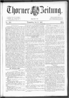 Thorner Zeitung 1892. Nr. 168
