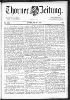 Thorner Zeitung 1892. Nr. 172