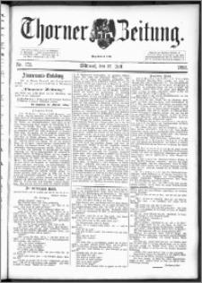 Thorner Zeitung 1892. Nr. 173