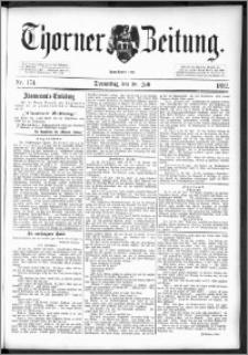 Thorner Zeitung 1892. Nr. 174