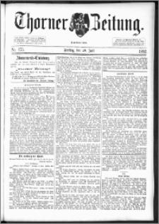Thorner Zeitung 1892. Nr. 175