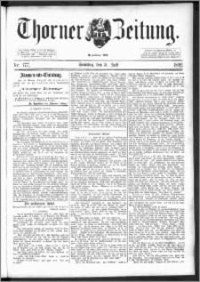 Thorner Zeitung 1892. Nr. 177 + Beilage