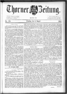Thorner Zeitung 1892. Nr. 178