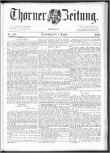 Thorner Zeitung 1892. Nr. 180