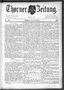 Thorner Zeitung 1892. Nr. 182