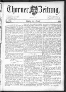 Thorner Zeitung 1892. Nr. 184 + Extra-Beilage