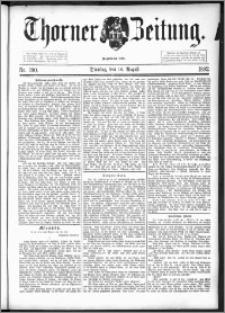 Thorner Zeitung 1892. Nr. 190