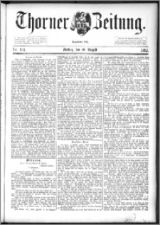 Thorner Zeitung 1892. Nr. 193