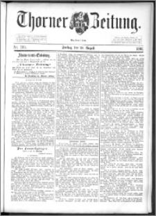 Thorner Zeitung 1892. Nr. 199