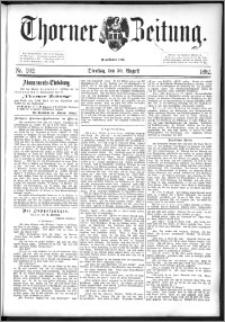 Thorner Zeitung 1892. Nr. 202