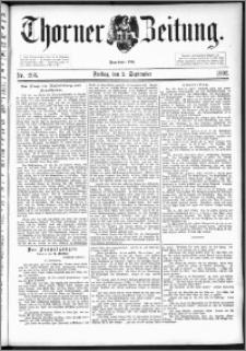 Thorner Zeitung 1892. Nr. 205