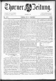 Thorner Zeitung 1892. Nr. 207 + Beilage