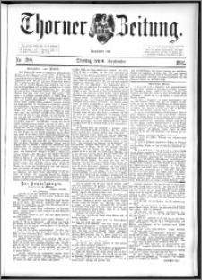 Thorner Zeitung 1892. Nr. 208