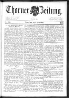 Thorner Zeitung 1892. Nr. 210 + Beilage
