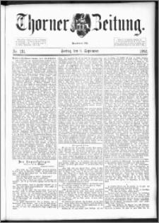 Thorner Zeitung 1892. Nr. 211