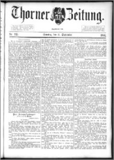 Thorner Zeitung 1892. Nr. 213 + Beilage