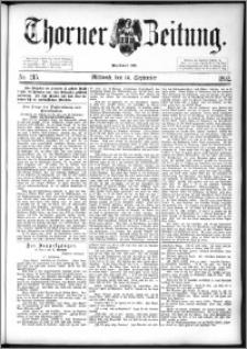 Thorner Zeitung 1892. Nr. 215
