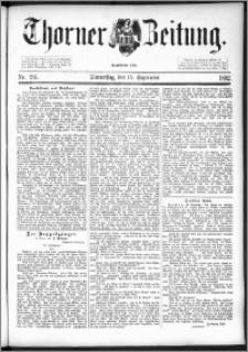 Thorner Zeitung 1892. Nr. 216