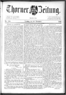 Thorner Zeitung 1892. Nr. 220