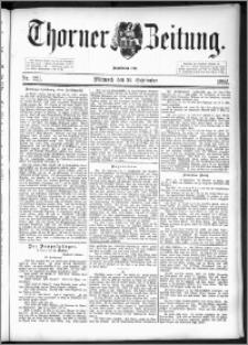 Thorner Zeitung 1892. Nr. 221