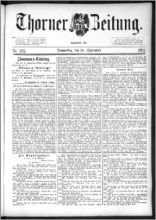 Thorner Zeitung 1892. Nr. 222