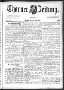Thorner Zeitung 1892. Nr. 223