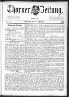Thorner Zeitung 1892. Nr. 224