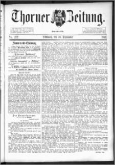 Thorner Zeitung 1892. Nr. 227