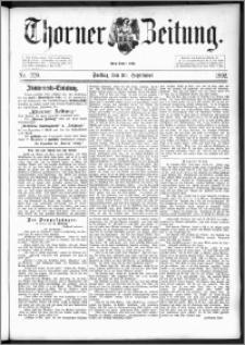 Thorner Zeitung 1892. Nr. 229