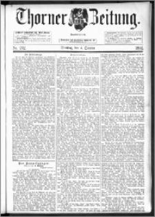 Thorner Zeitung 1892. Nr. 232