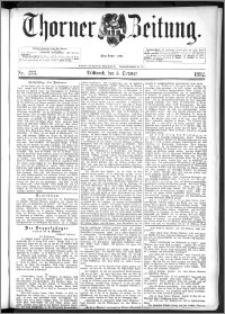 Thorner Zeitung 1892. Nr. 233