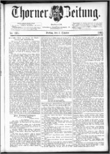 Thorner Zeitung 1892. Nr. 235