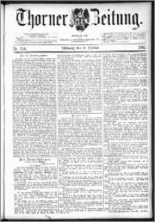 Thorner Zeitung 1892. Nr. 239