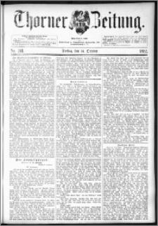 Thorner Zeitung 1892. Nr. 241