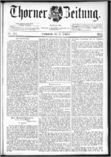 Thorner Zeitung 1892. Nr. 242